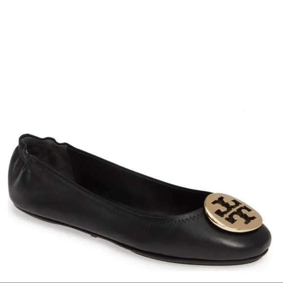 Tory Burch Shoes - TORY BURCH Minnie Leather Ballet Flat